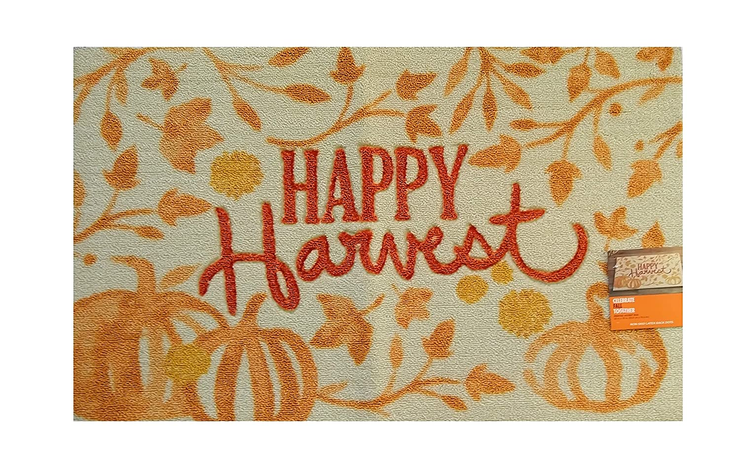 Celebrate Fall Together Printed Accent Rug (Happy Harvest) 73CTAHVPP06