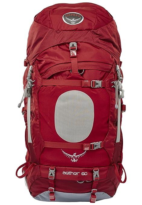 L 60 Rojo Talla m Mochila Osprey L Aether 63 qwB47x5Y