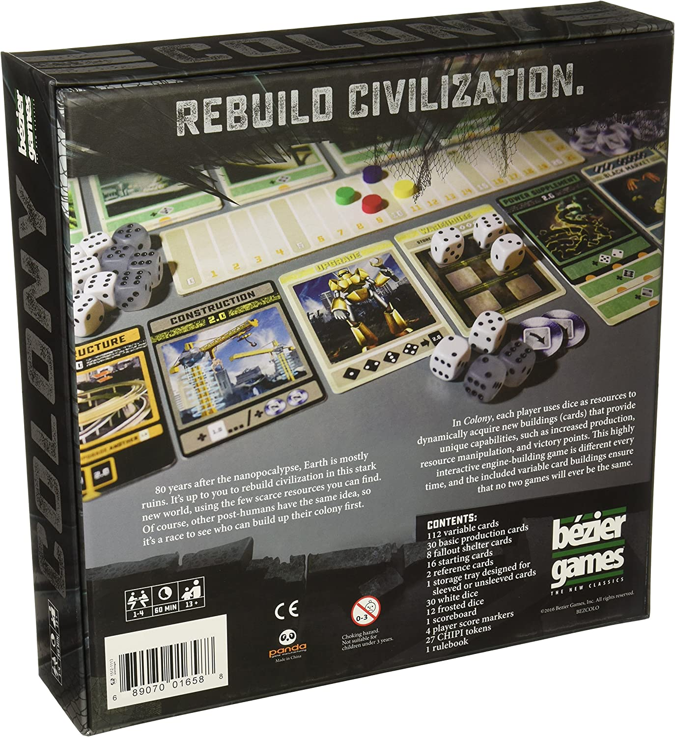 Toys Hobbies Bezier Games Colony Board Game Brand New Sealed Triadecont Com Br