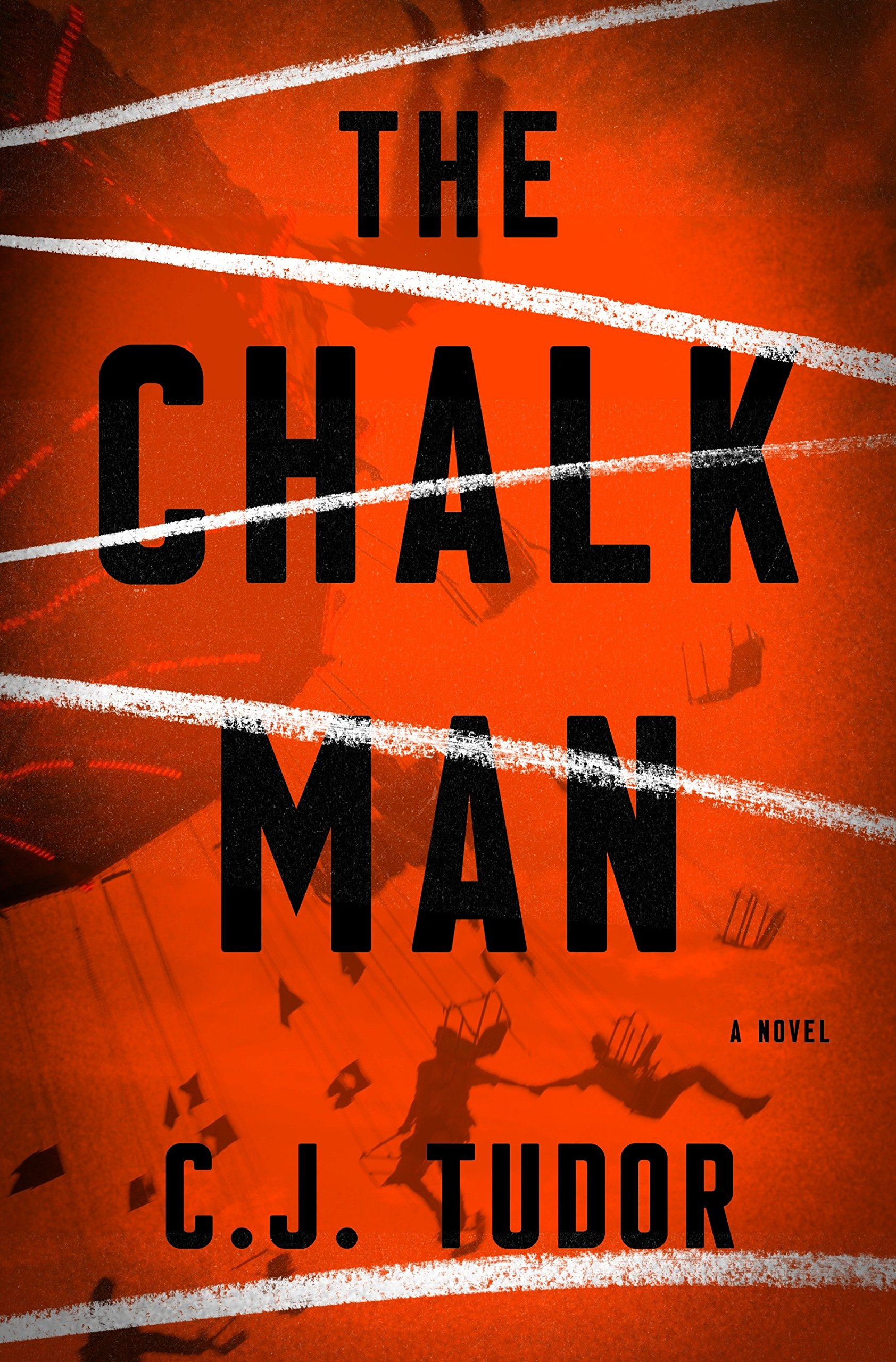Image result for the chalk man book cover