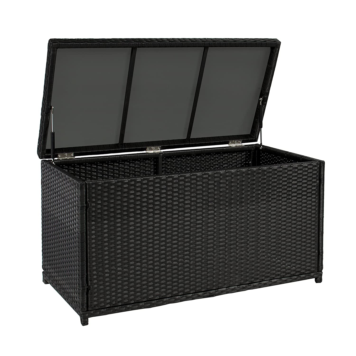 furniture deck. Amazon.com : Best ChoiceProducts Wicker Deck Storage Box Weather Proof Patio Furniture Pool Toy Container Garden \u0026 Outdoor E