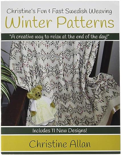 Amazon Christines Swedish Weaving Winter Patterns Book