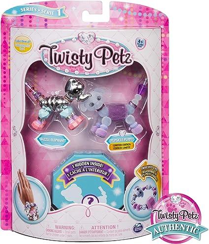 3 Twisty Petz 3-Pack Collectible Bracelet Set LOT