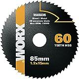 WORX WA5036 Blade WORXSAW 85mm, 60 Tooth HSS