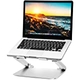 Soundance Laptop Stand Adjustable Riser Compatible with Apple Mac MacBook Pro Air, Ergonomic Aluminum Holder for 10-17.3…