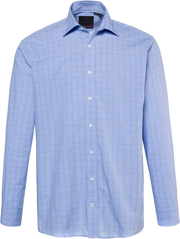 JP 1880 - Camisa Formal - para Hombre Azul Claro XXXXXXL ...