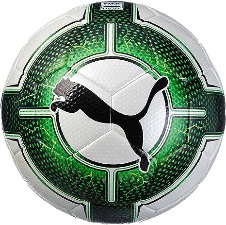 Puma, Pelota de fútbol Blanca, Verde y Negra Uni Evopower Vigor ...
