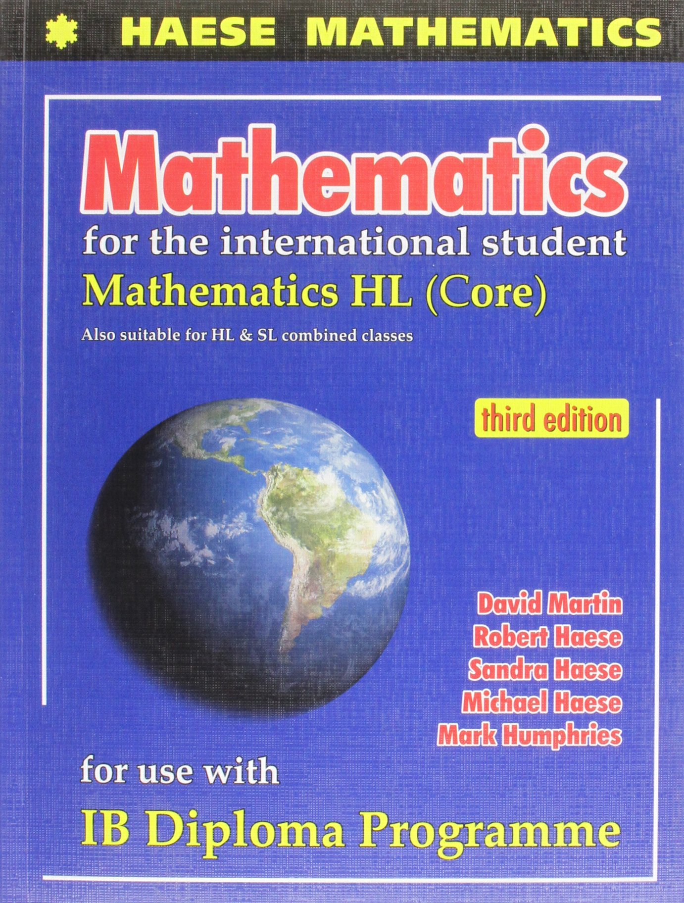 MATHEMATICS F/INTL.STUDENT:HL-W/CD: HAESE ET AL: 9781921972119: Amazon.com:  Books