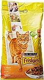 Friskies Chat Croquettes pour chat adulte Poulet & Légumes ajoutés 4 kg - Lot de 4 (16 kg)