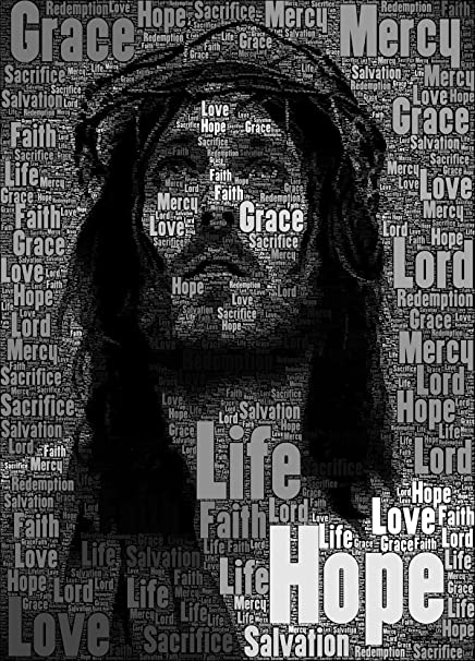 love st jesus christ posters for home office 12x18 christ