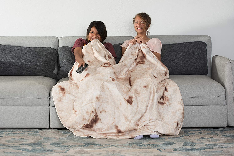 Zen Life Burrito Blanket Be a Giant Human Burrito Tortilla or Taco Soft /& Plush Giant Round Beach Towel for Kids or Adults FBA/_ZEN-003BB
