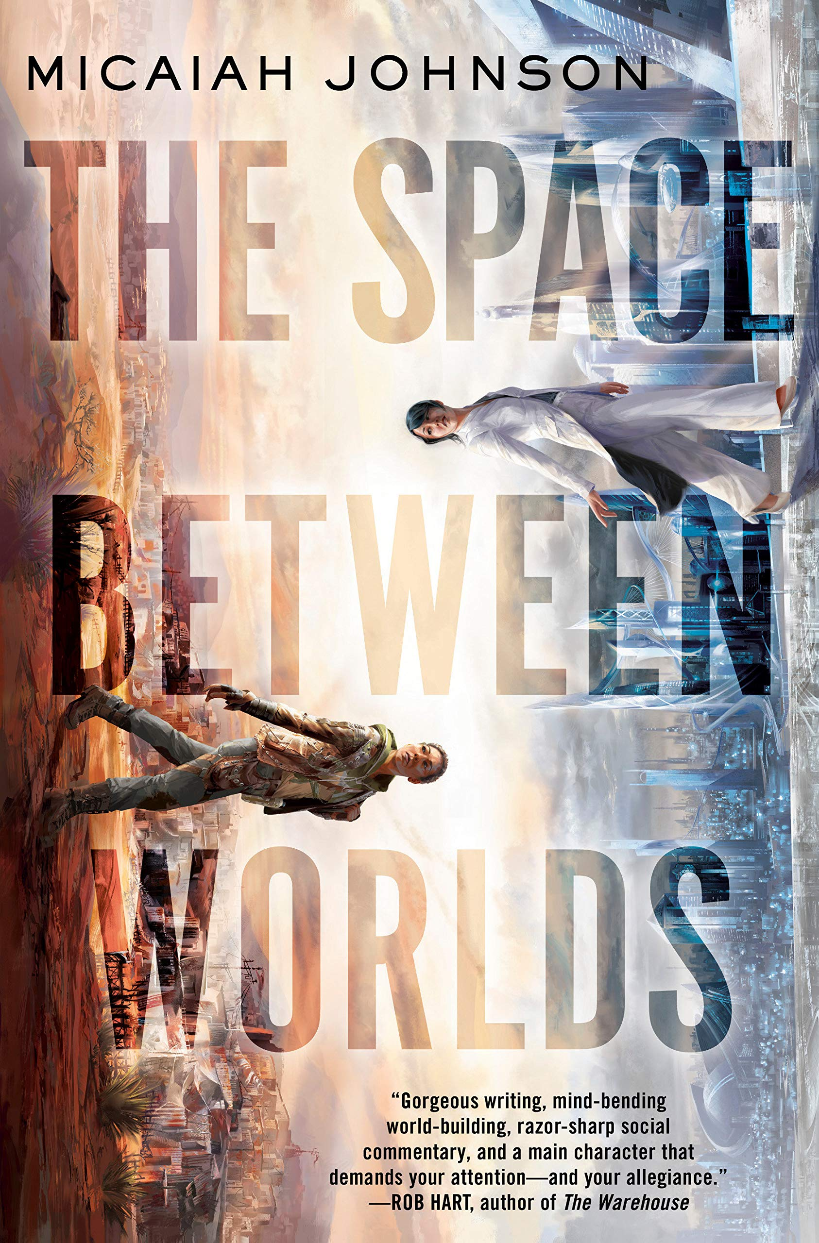 The Space Between Worlds: Johnson, Micaiah: 9780593135051: Amazon.com: Books