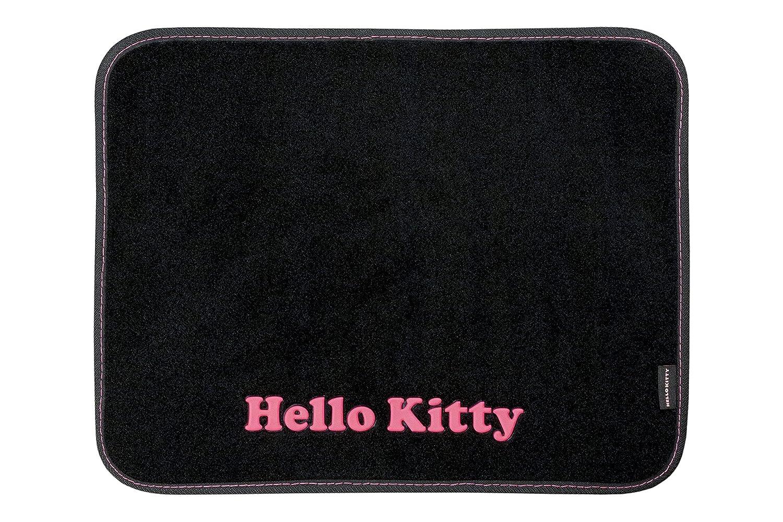 Set of 4 Hello Kitty KIT3013 Fussmatten Schwarz Farbe