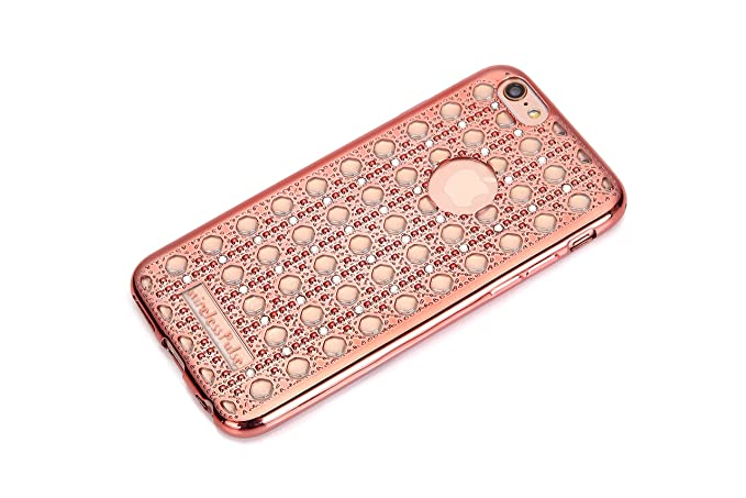 New Fashion Designer iPhone SE Case Luxury Crystal Diamond Vintage  Transparent Shockproof Soft Slim TPU Bling aee6255e1b