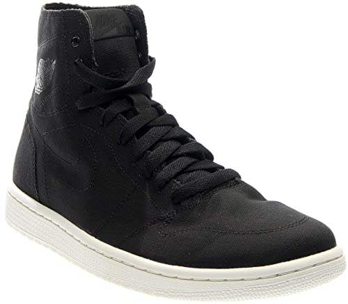 online store e5be2 72222 Nike Air Jordan 1 Retro High Decon Mens Basketball Trainers 867338 Sneakers  Shoes (11 F UK, Black Black sail 010)  Amazon.co.uk  Shoes   Bags