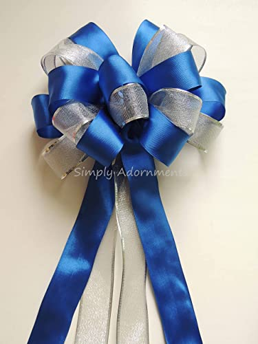 Amazoncom Royal Blue Silver Party Royal Blue Silver Wedding Aisle