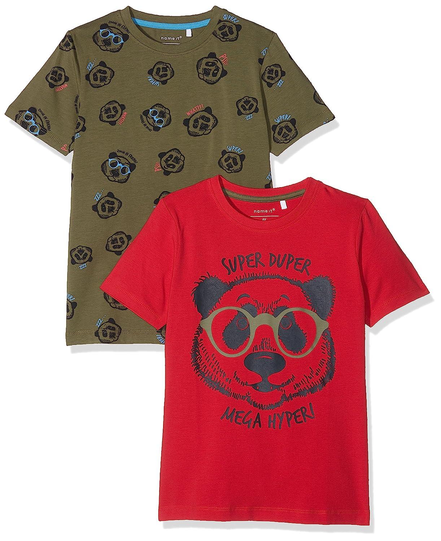 NAME IT Jungen T-Shirt, 2er Pack
