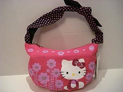 68727ca6e Amazon.com: Hot Pink Hello Kitty Mini Hobo Shoulder Tote Bag: Shoes