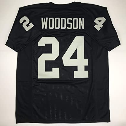 factory authentic 0a7a7 2f065 Amazon.com: Unsigned Charles Woodson Oakland Black Custom ...