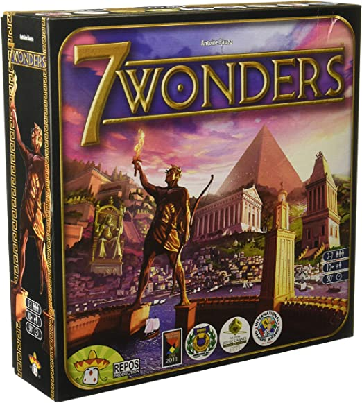Asmodee - 7 Wonders, juego de mesa (Repos SEV01ML): Amazon.es: Juguetes y juegos