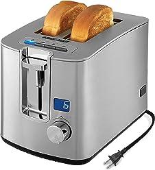 BLACK+DECKER 2-Slice Toaster, Stainless Steel, TR1280SD