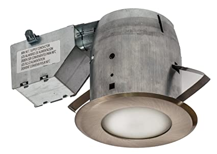 Nadair GU378L-FROBN 4in Shower Recessed Lighting Dimmable LED Downlight Bathroom Spotlights - IC Rated  sc 1 st  Amazon.com & Amazon.com: Nadair GU378L-FROBN 4in Shower Recessed Lighting ...