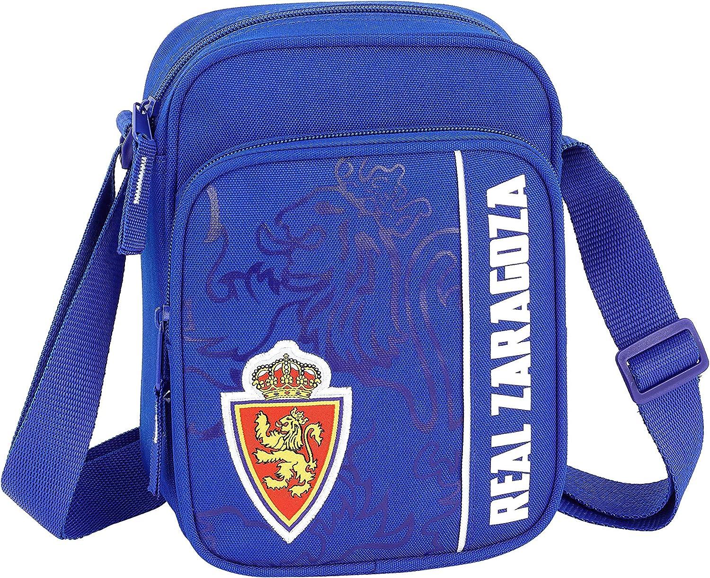 Real Zaragoza Oficial Bandolera Con Bolsillo Exterior 160x60x220mm ...