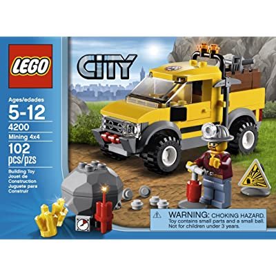 LEGO City 4200 Mining 4x4: Toys & Games