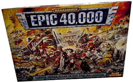 Amazon com : Warhammer Epic 40, 000 - Massive Armies Clash