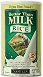 Better Than Milk Vegan Rice Powder, Vanilla, 21.4 Ounce