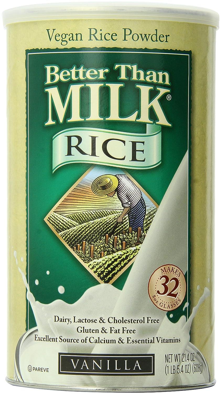 Better Than Milk Vegan Rice Powder, Vanilla, 21 4 Ounce
