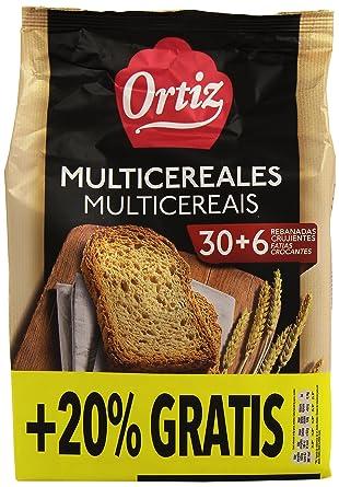 Ortiz - Pan Multicereales - 30 + 6 rebanadas