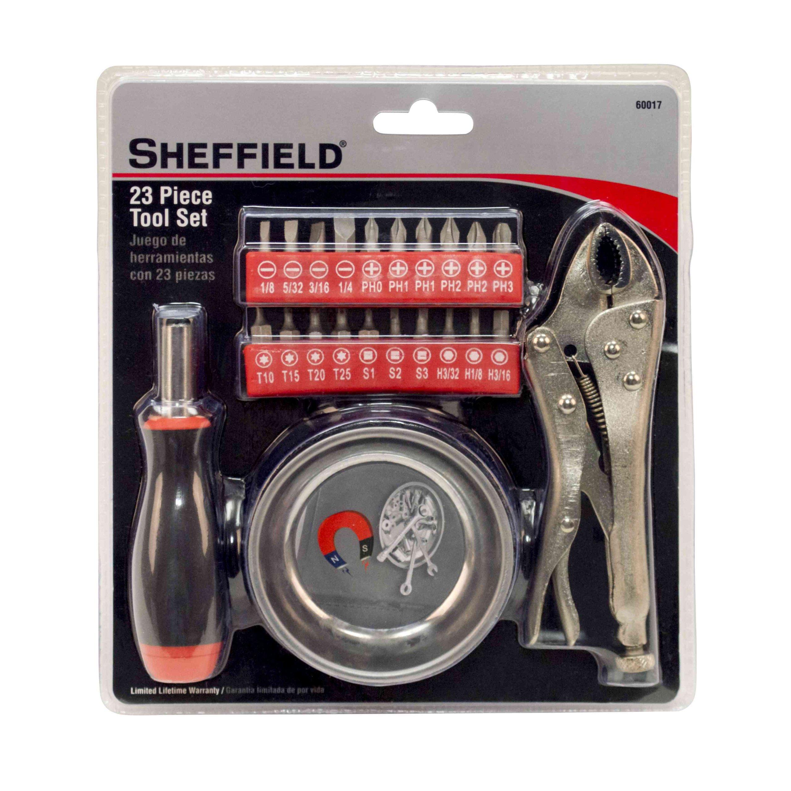 Sheffield Tools 60017 Tool Set, 23-Piece