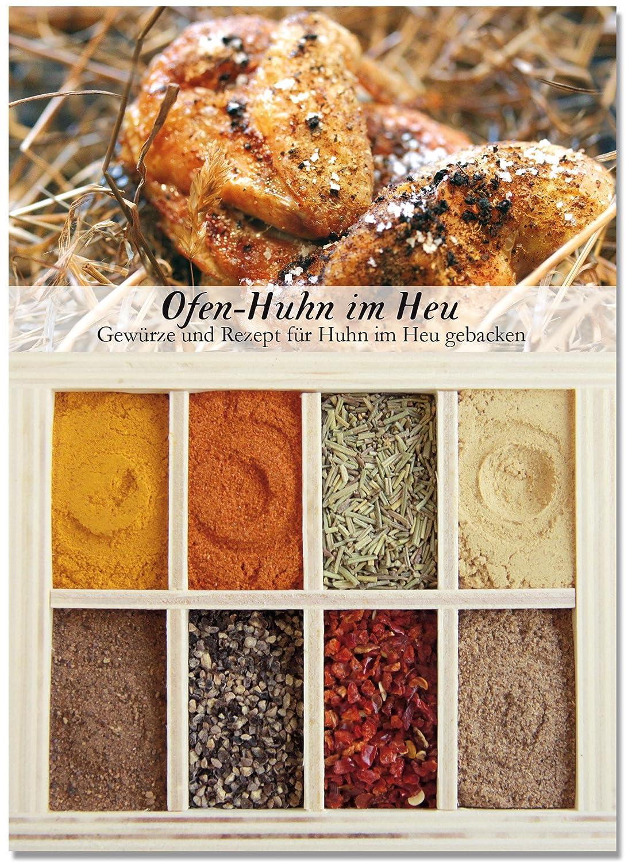 8 verschiedene Gewürze für Ofen-Huhn im Heu – Gewürze für leckeres ...