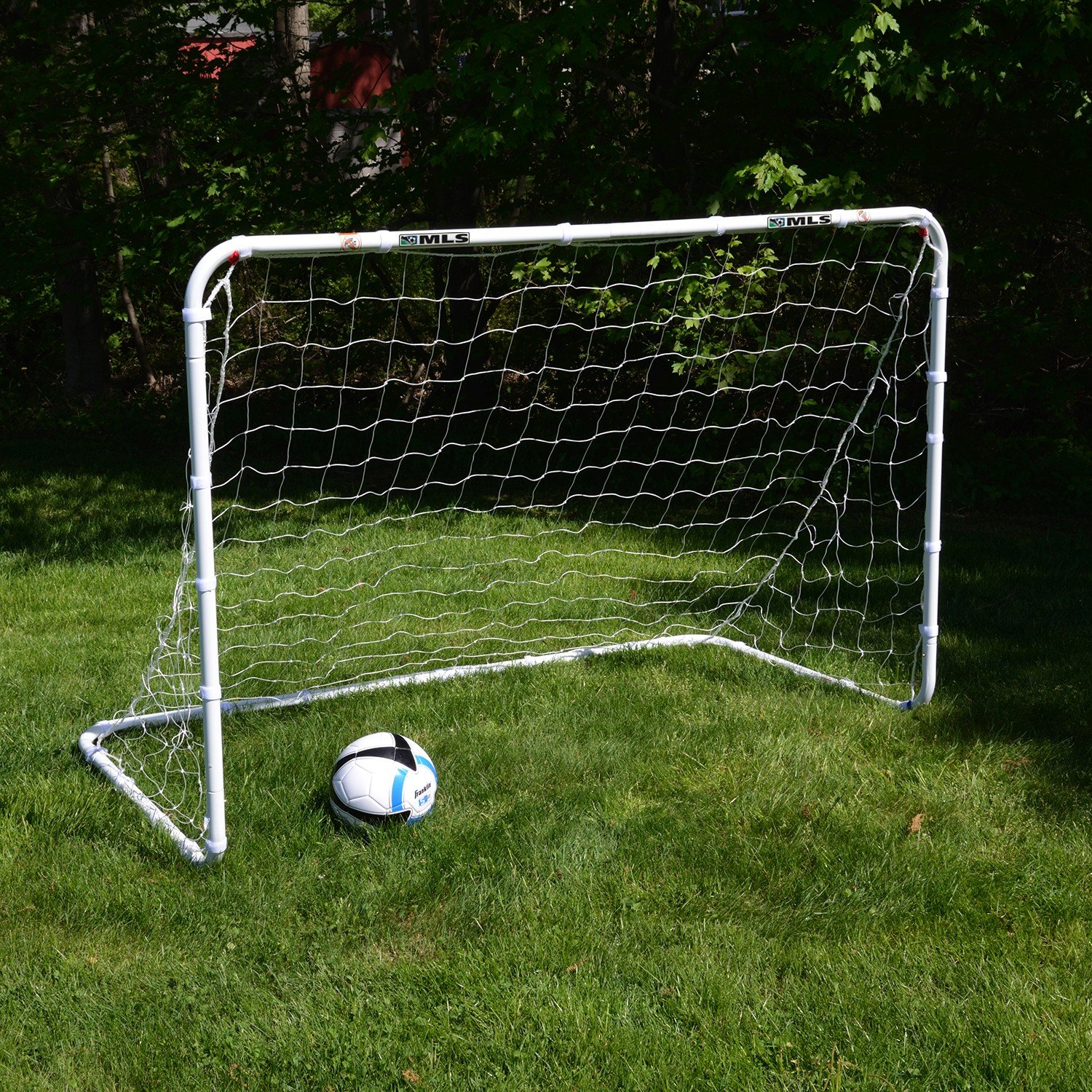 Amazon Franklin Sports MLS Tournament Steel Soccer Goal 6 x