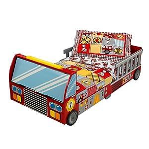 Kidkraft 76031 - Lit pour tout-petits camion de pompier
