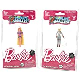 World's Smallest Barbie Series 2 - 2 Pack Bundle 1965 Astronaut - 1992 Totally Hair