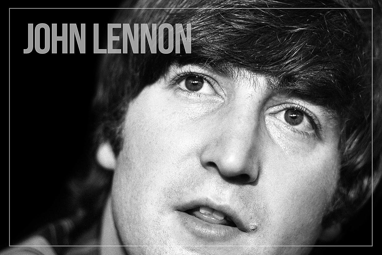 Rock n Roll Hall of Fame :: John Lennon, Beatles. Laminated Poster :: Art Print Photo
