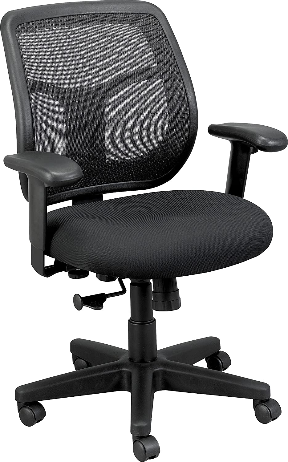 Excellent Eurotech Seating Apollo Midback Swivel Chair Black Beatyapartments Chair Design Images Beatyapartmentscom