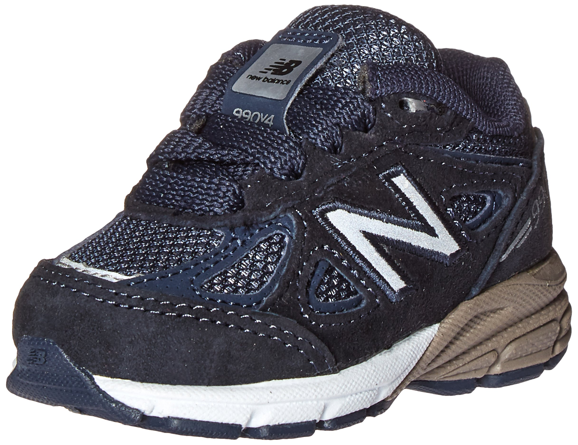New Balance KV990 Infant Running Shoe (Infant/Toddler), Navy, 9 M US Toddler