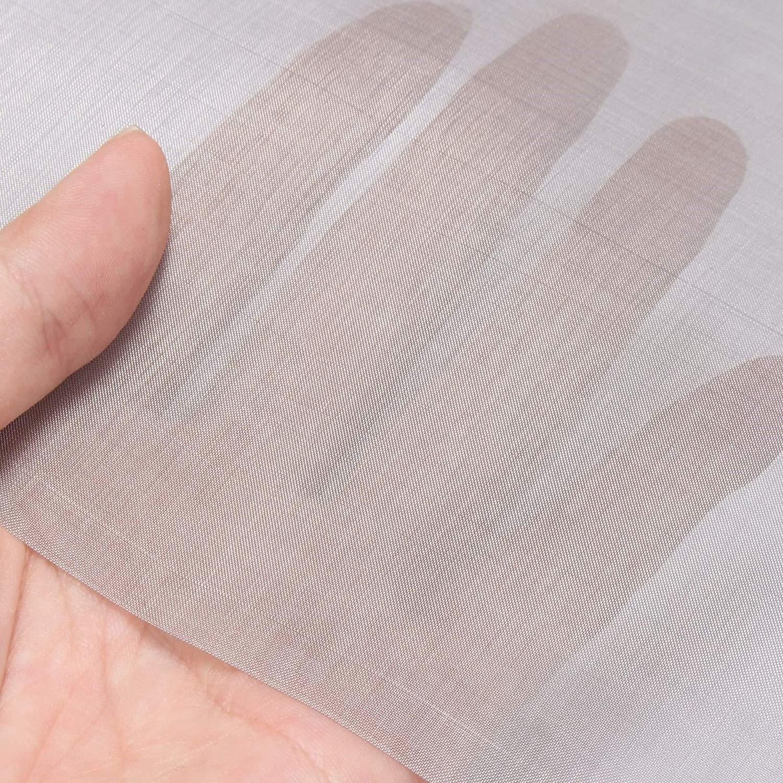 304 Stainless Steel Industrial Mesh Filter Sock Bag,180mm x 810mm,Mesh 200 #C0AY
