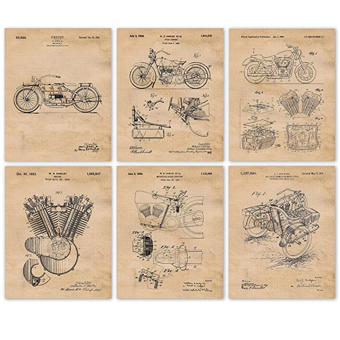 Top 10 Antique Harley Davidson Decor