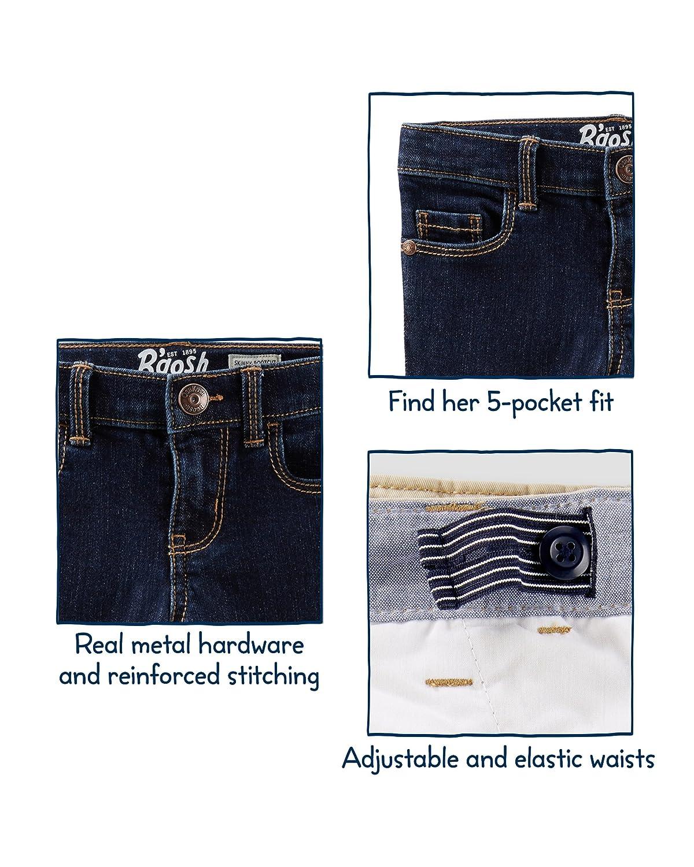 OshKosh BGosh Girls Kids Skinny Denim Brushed Blue 10 Osh Kosh 33312610