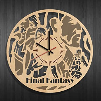 Amazon Com Clock On The Wall Final Fantasy Best Gift For Final