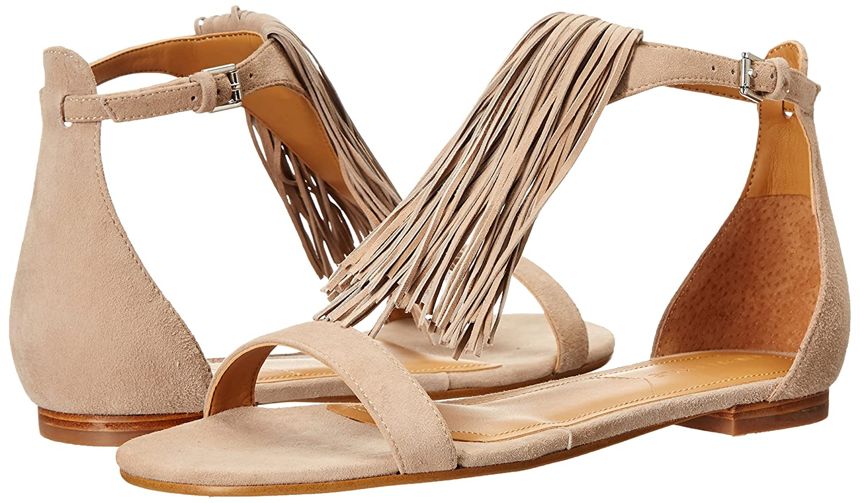 KENDALL + KYLIE Women's kkTESSA Dress Sandal B01CHFCTPY 7 B(M) US|Taupe Suede