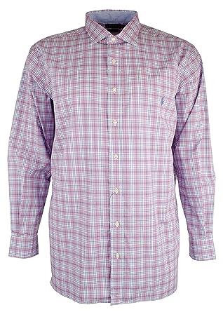 953ec83c Polo Ralph Lauren Men's Big and Tall Long Sleeves Classic Fit Poplin  Buttondown Shirt (1X