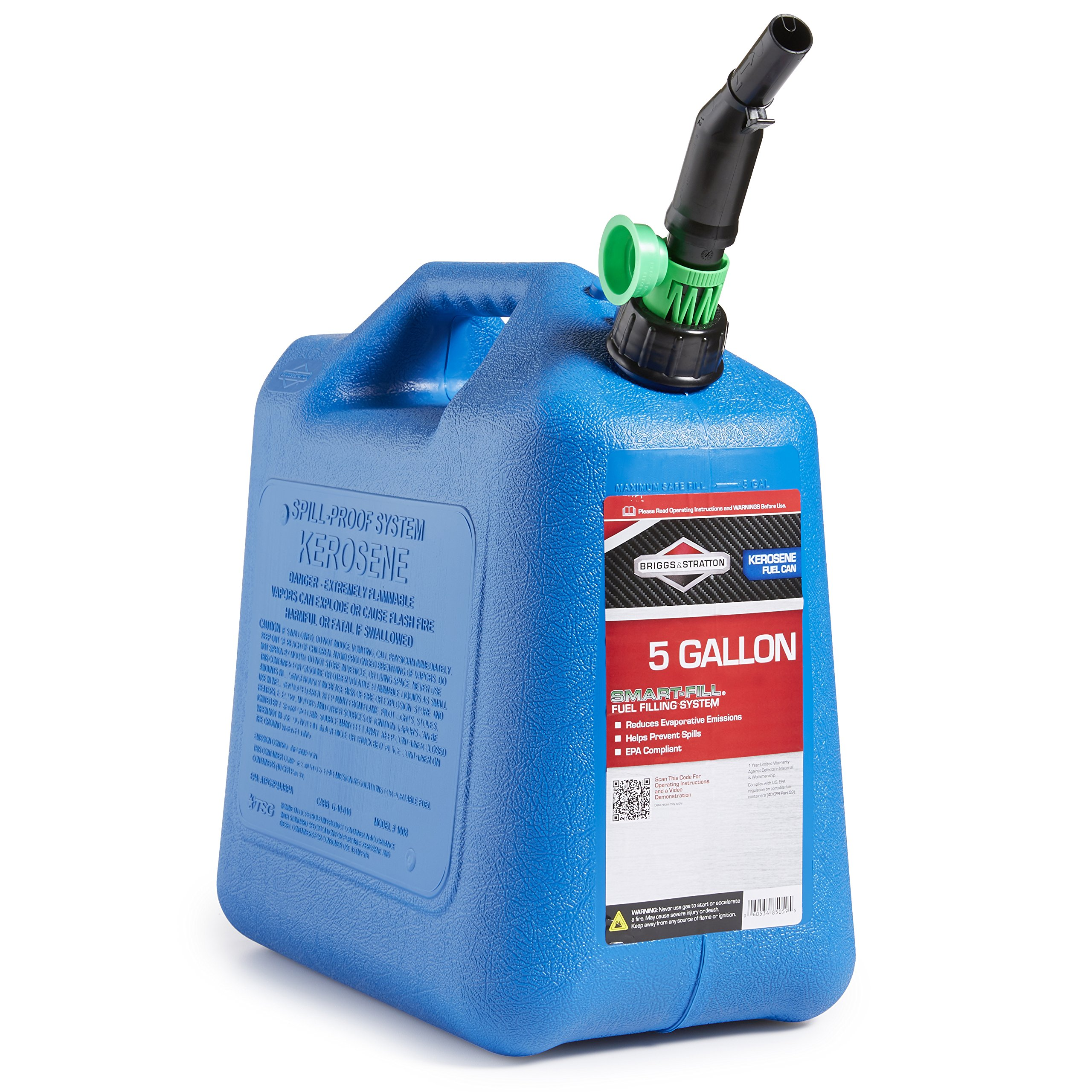 Briggs & Stratton 85059 5 Gallon Kerosene Can