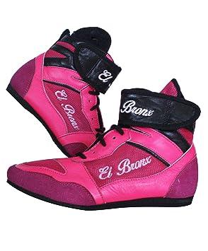 El Bronx zapatillas de boxeo ergonómicas: Amazon.es: Deportes y aire libre