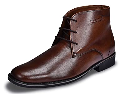 473e0386895 CIZMAR Leather Chukka Boots (43): Buy Online at Low Prices in India ...