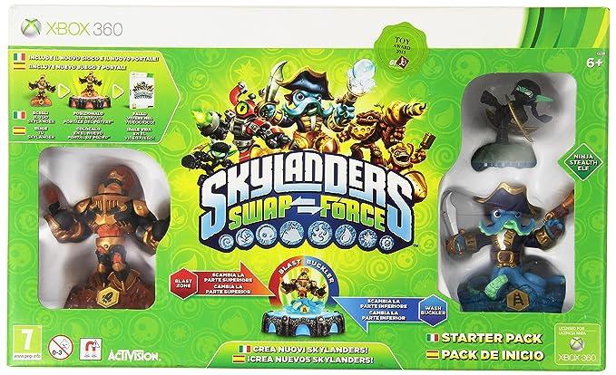 Skylanders: Swap Force - Starter Pack: microsoft xbox 360 ...